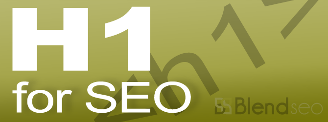 How are H1 Tags Used for SEO? Are Excessive H1's Really Bad?